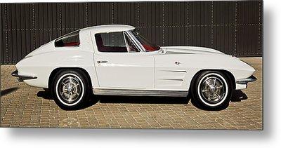 1963 Chevrolet Corvette Split Window -575c Metal Print by Jill Reger