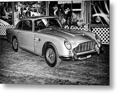 Metal Print featuring the photograph 1964 Aston Martin Db5 by Boris Mordukhayev
