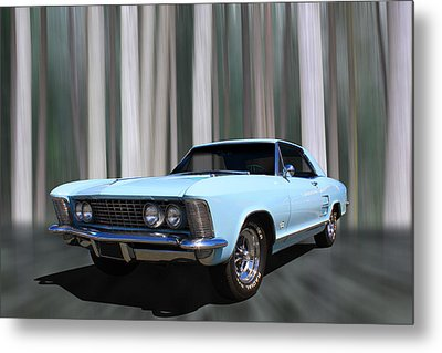 1964 Buick Riviera Metal Print by Keith Hawley