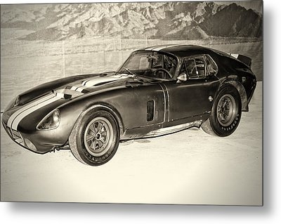 Metal Print featuring the photograph 1964 Cobra Daytona Coupe by Boris Mordukhayev