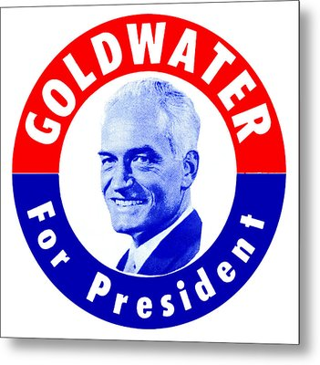 1964 Goldwater For President Metal Print