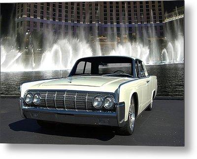 1964 Lincoln Continental Metal Print