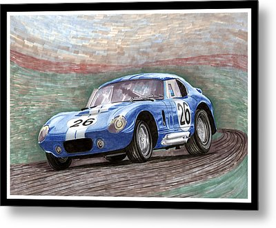 1964 Shelby Daytona Metal Print by Jack Pumphrey