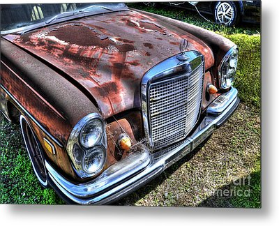 1965 Mercedes-benz Metal Print