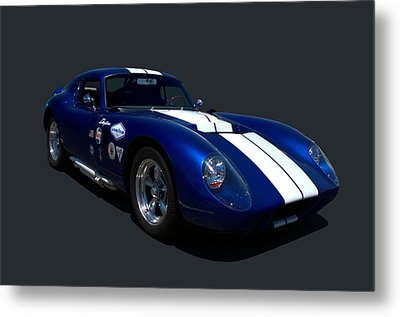 Metal Print featuring the photograph 1965 Shelby Daytona Coupe Replica by Tim McCullough