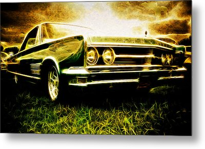 1966 Chrysler 300 Metal Print by Phil 'motography' Clark