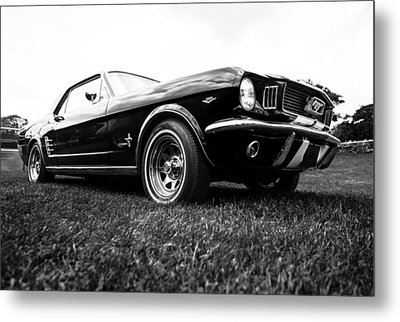 1966 Ford Mustang 289 Metal Print by motography aka Phil Clark