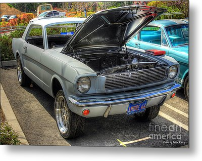 1966 Mustang  Metal Print by Kevin Ashley