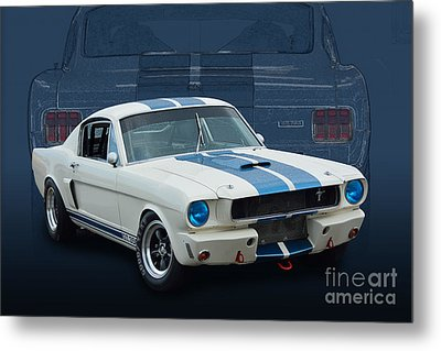 1966 Shelby Gt350 Metal Print