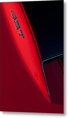 1967 Chevrolet Corvette 427 Emblem  Metal Print by Jill Reger