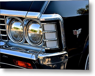 1967 Chevy Impala Front Detail Metal Print by Bill Owen