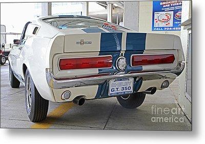 1967 Mustang Shelby Gt-350 Metal Print