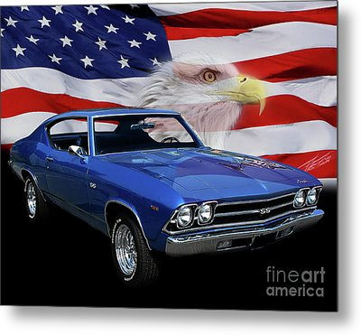 1969 Chevelle Tribute Metal Print
