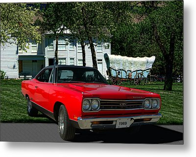 1969 Plymouth Gtx 440 Magnum Metal Print by Tim McCullough