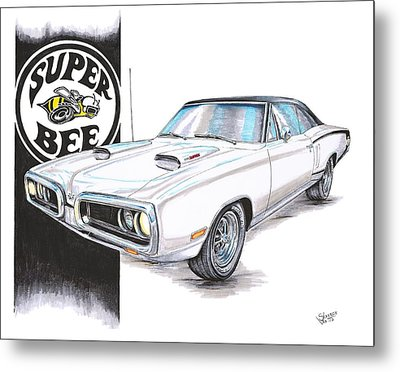 1970 Dodge Super Bee Metal Print