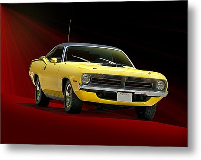 1970 Plymouth Barracuda Metal Print by Dave Koontz