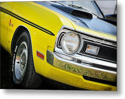 1971 Dodge Demon 340 Metal Print by Thomas Schoeller