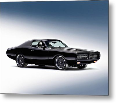 1972 Dodge Charger Metal Print by Gianfranco Weiss