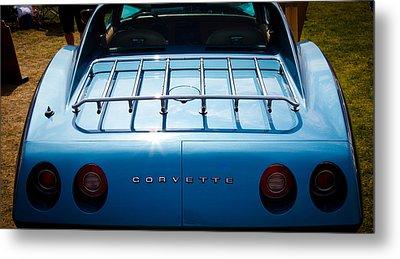 1974 Chevy Corvette Metal Print by David Patterson