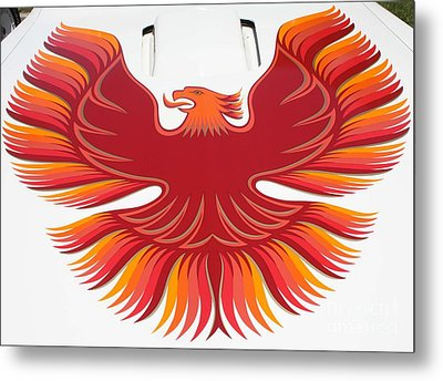 1979 Pontiac Firebird Emblem Metal Print