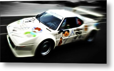 1980 Bmw M1 Procar Metal Print by Phil 'motography' Clark
