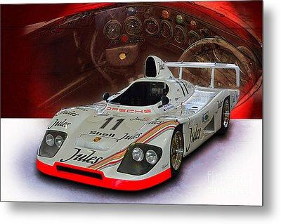 1981 Porsche 936/81 Spyder Metal Print