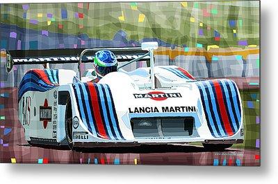 1982 Lancia Lc1 Martini Metal Print