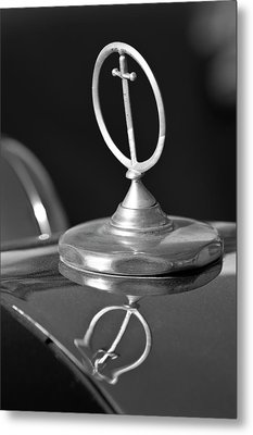 1984 Excalibur Roadster Hood Ornament 2 Metal Print