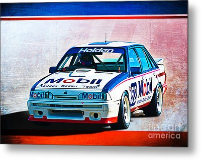 1987 Vl Commodore Group A Metal Print by Stuart Row