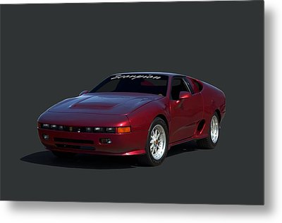 Metal Print featuring the photograph 1988 Fireo Scorpion Kit Car by Tim McCullough