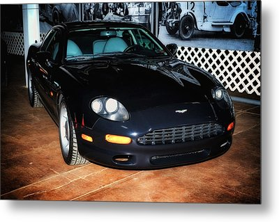 Metal Print featuring the photograph 1997 Aston Martin Db7 by Boris Mordukhayev