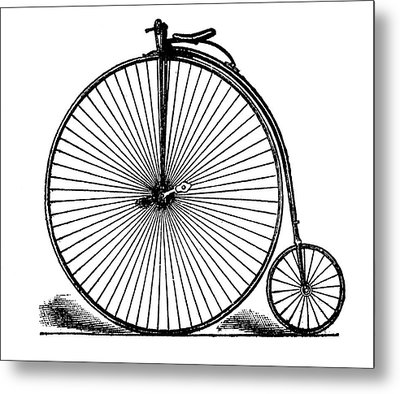 19th Century Penny-farthing Metal Print
