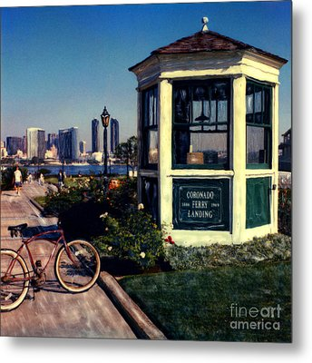 1st And Orange Ave. Metal Print