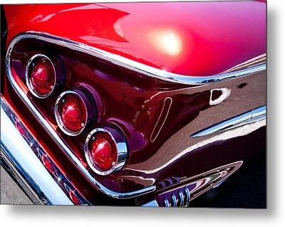 1958 Chevy Impala Metal Print by David Patterson