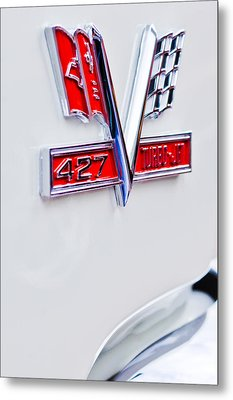 1966 Chevrolet Biscayne Emblem Metal Print