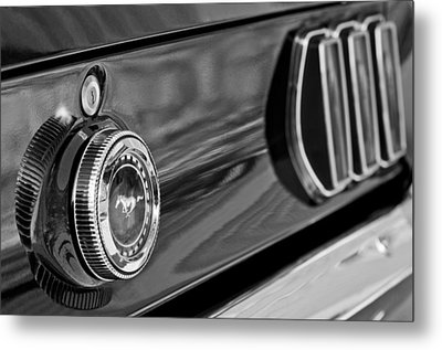 1969 Ford Mustang Taillights Metal Print by Jill Reger