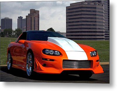 Metal Print featuring the photograph 2002 Camaro Z28 by Tim McCullough