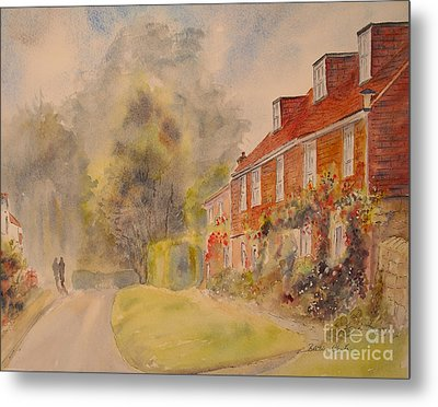 Metal Print featuring the painting A Corner Of Winchelsea by Beatrice Cloake