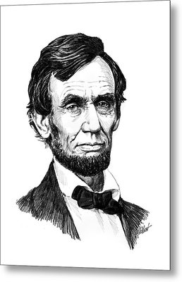A. Lincoln Metal Print by Harry West