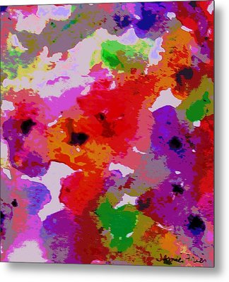A Little Watercolor Metal Print by Jamie Frier