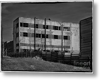 Abandoned Factory At Vadu Metal Print by Gabriela Insuratelu