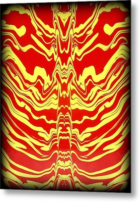 Abstract 48 Metal Print by J D Owen