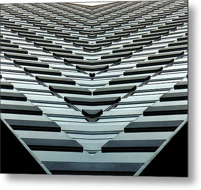Abstract Buildings 7 Metal Print by J D Owen