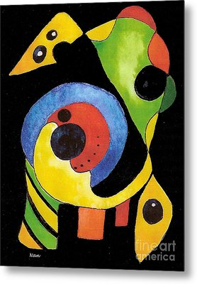 Abstract Dream Metal Print by Nan Wright