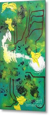 Abstract Metal Print by Kateryna Kurylo