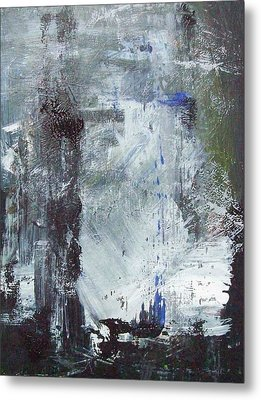 Abstract Metal Print by Mary Adam