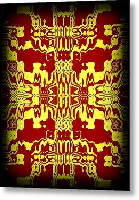 Abstract Series 3 Metal Print by J D Owen