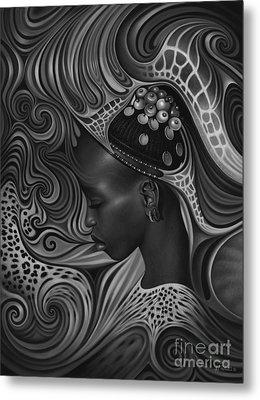African Spirits II Metal Print