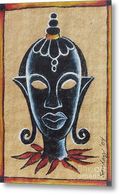 Africana Metal Print by Joseph Sonday