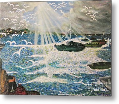 After The Storm Metal Print by Leanne Seymour